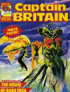 Captain Britain 11