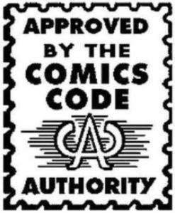 comic book stamp of approval