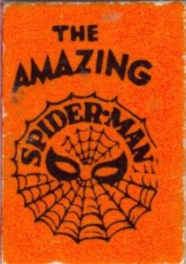 Marvel mini book Spiderman