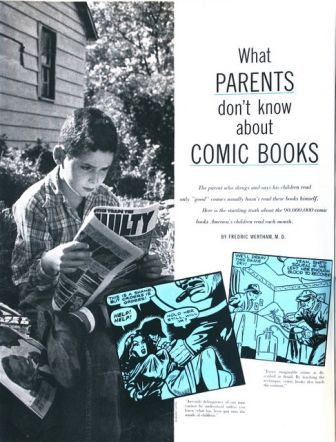 what parents don't know about comic books