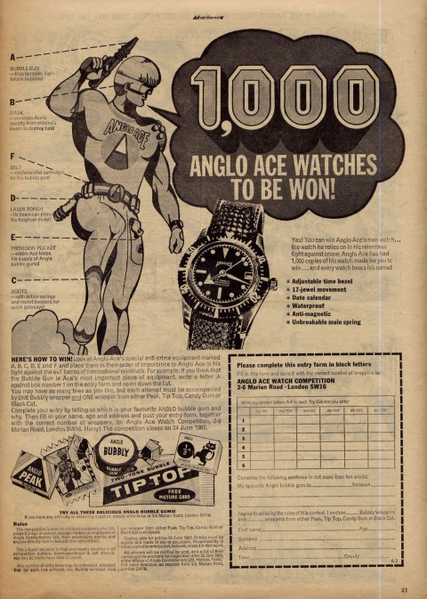 Anglo Ace Watch Competition