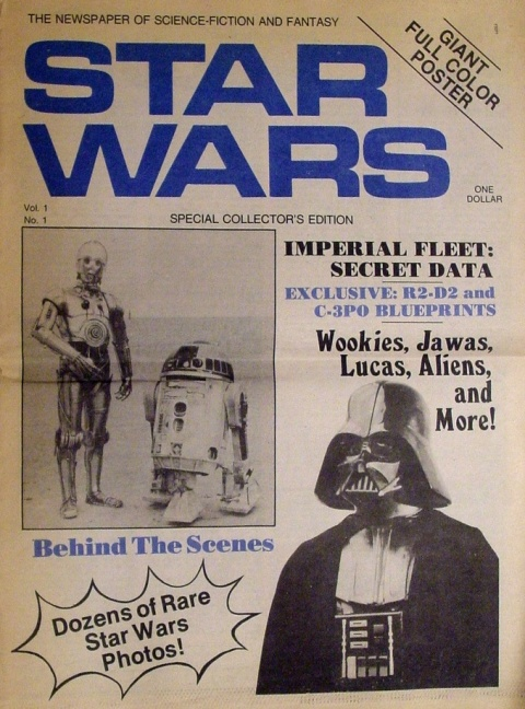 Star Wars Newspaper