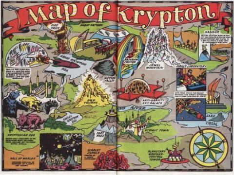 Map of Krypton