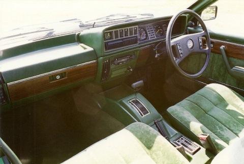 Monza Series 1 interior
