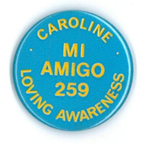Radio Caroline badge
