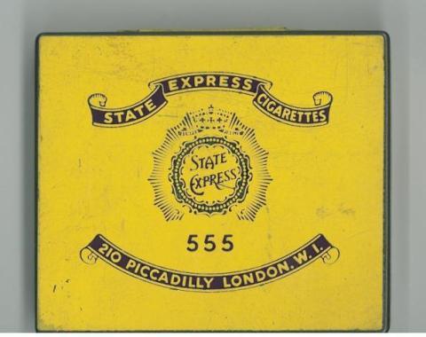 State Express 555 tin