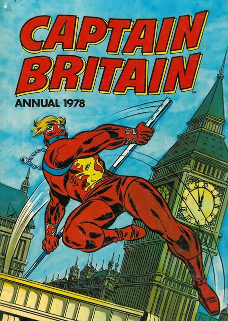 Captain Britain Annual 1978