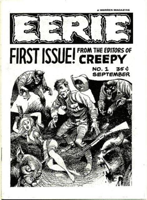 Eerie 1 ashcan Warren 1965