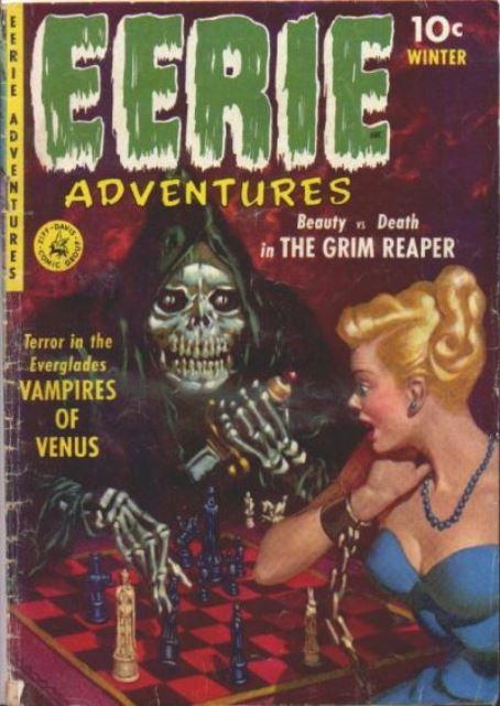 Eerie Adventures Ziff Davis 1951