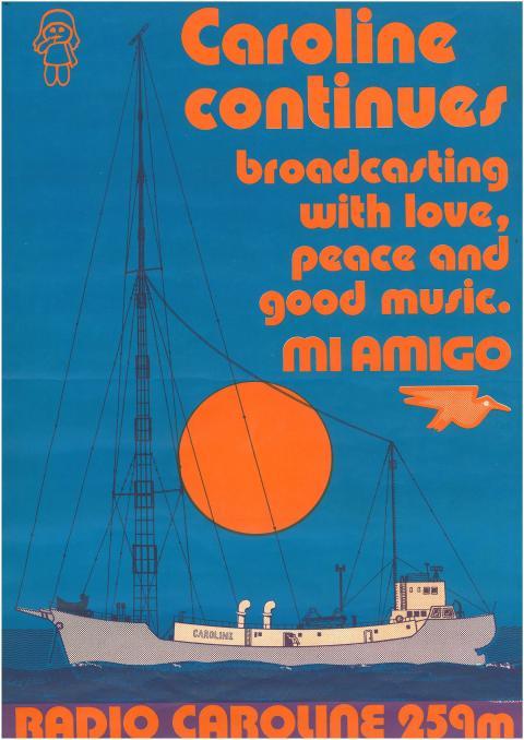 Radio Caroline Poster