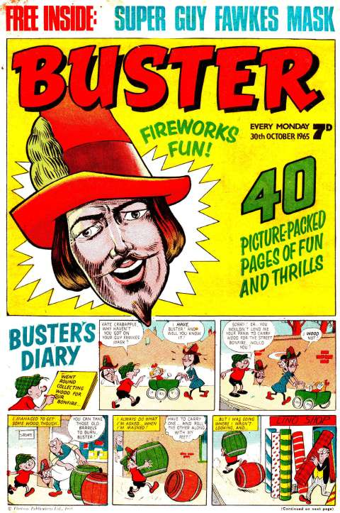 Buster 30th October 1965