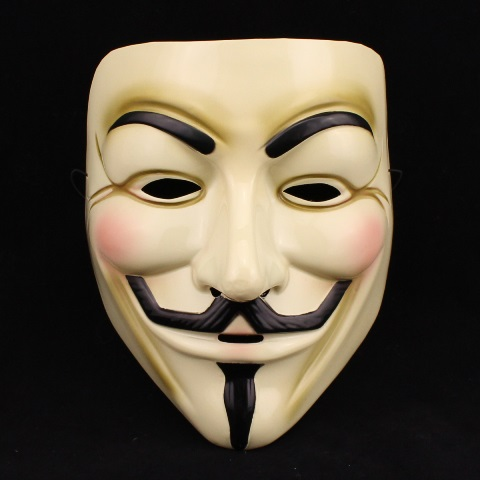 Occupy Guy Fawkes mask