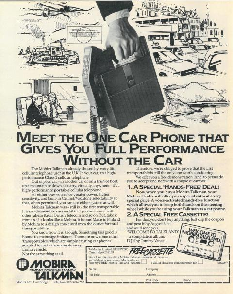 1986 Mobile Phone
