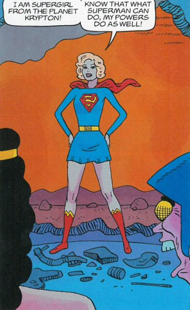 Not Supergirl