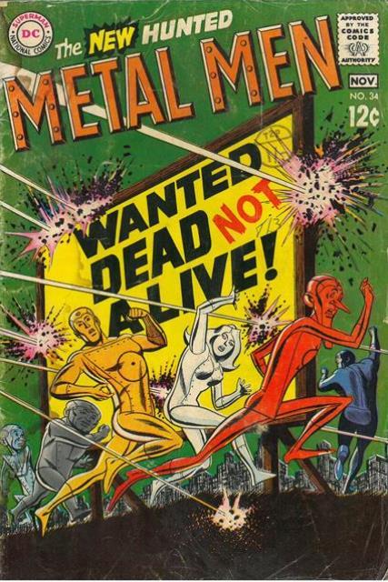 Metal Men 34