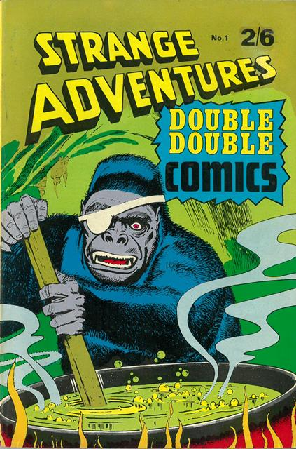 Strange Adventures Double Double Comics No 1
