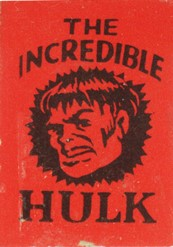 Incredible Hulk Marvel Mini Book
