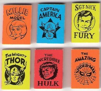 marvel mini books