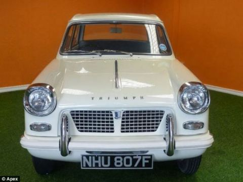 Triumph Herald as new