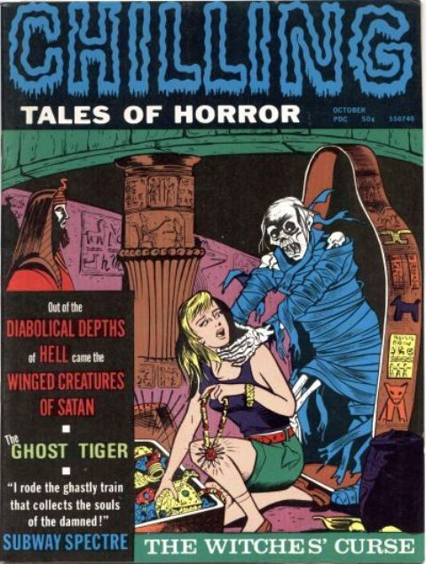 Chilling Tales of Horror v2 no5 Stanley Morse 1971