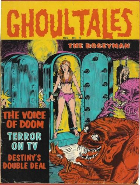 Ghoul Tales 1 Stanley Morse 1970