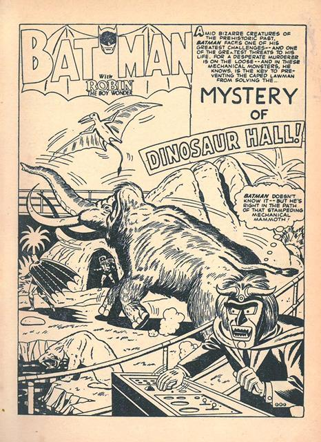 Mystery of Dinosaur Hall