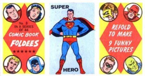 Comic Book Foldees a