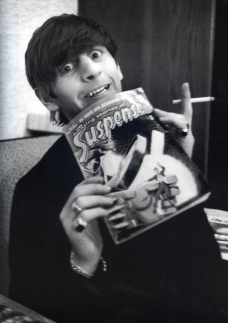 Ringo with comic