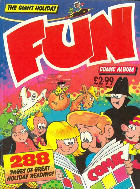 The Giant Holiday Fun Comic Album
