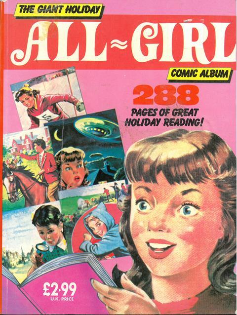 The Giant All-Girl Comic album